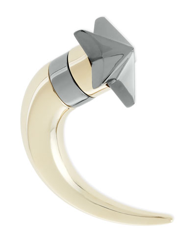 Givenchy Single Small Star Shark-Tooth Earring