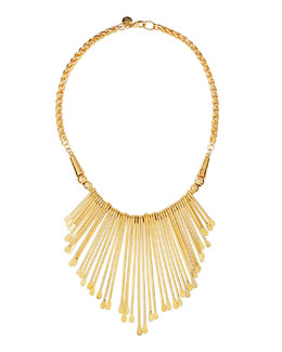 Jules Smith Golden Viva Glam Fringe Necklace