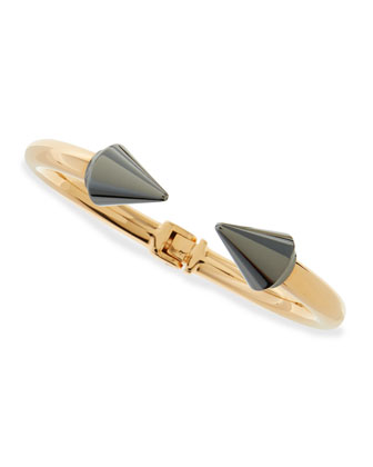 Titan Two-Tone Bracelet, Gunmetal/Rose Gold