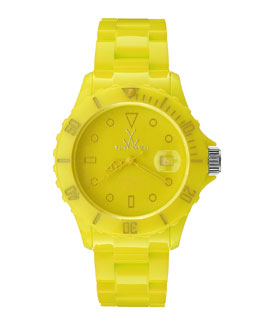 Toy Watch 39mm Plasteramic Watch, Yellow