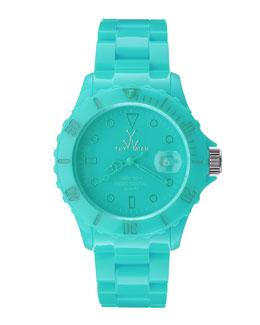 Toy Watch 39mm Plasteramic Watch, Aqua