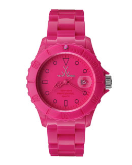 Toy Watch 39mm Plasteramic Watch, Pink