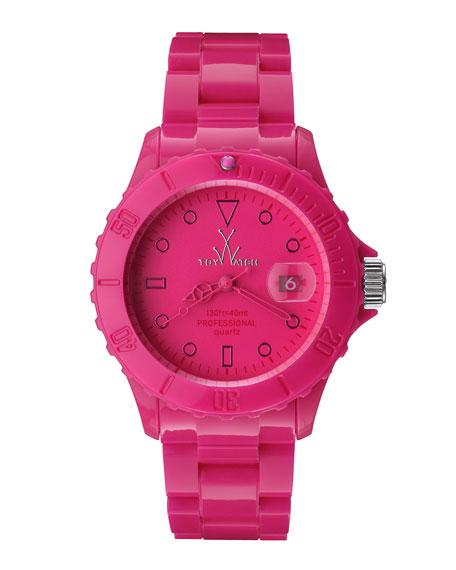 39mm Plasteramic Watch, Pink