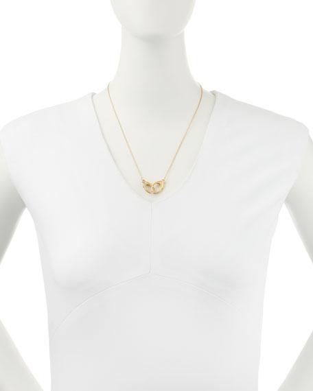 14k Gold Vermeil Large-Double-Clasp Necklace