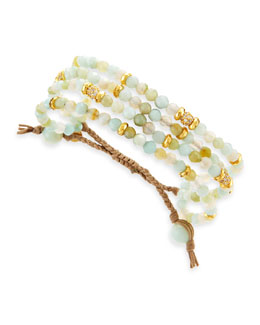 Tai Amazonite Multi-Strand Bracelet