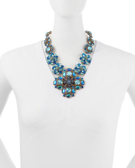 Swarovski Crystal Necklace, Blue