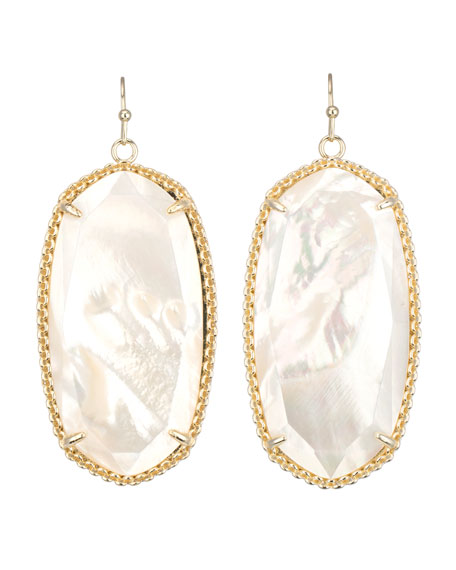 Deily Drop Earrings, Mother-of-Pearl