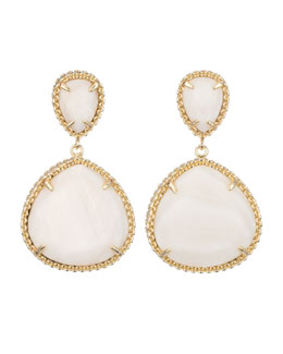 Kendra Scott Penny Post Earrings, Mother-of-Pearl