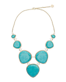 Kendra Scott Rebecca Necklace, Turquoise