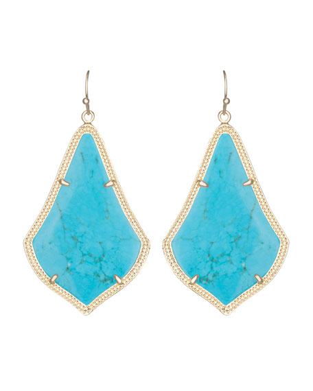 Kendra Scott Alexandra Earrings, Turquoise