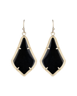 Kendra Scott Alex Earrings, Black