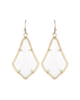 Kendra Scott Alex Earrings, Mother-of-Pearl