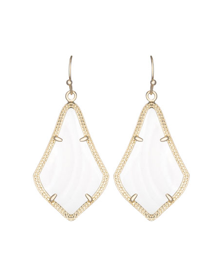 Alex Earrings, Mother-of-Pearl
