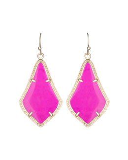 Kendra Scott Alex Earrings, Magenta