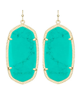Kendra Scott Danielle Earrings, Teal