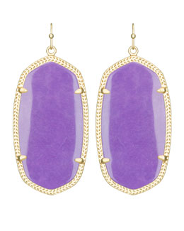 Kendra Scott Danielle Earrings, Violet