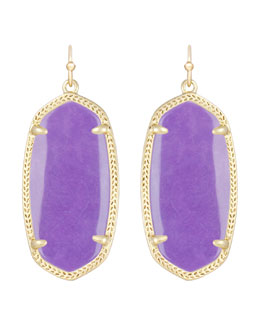 Kendra Scott Elle Earrings, Violet