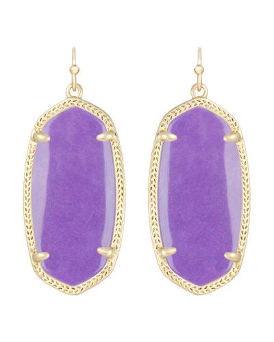 Kendra Scott Elle Earrings, Violet