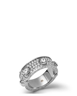 Michael Kors  Astor Stud Ring, Silver Color