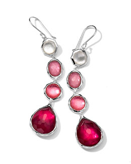 Ippolita Wonderland 4-Drop Earrings, Rio