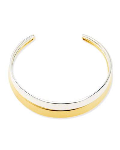 Robert Lee Morris Two-Tone Collar Necklace