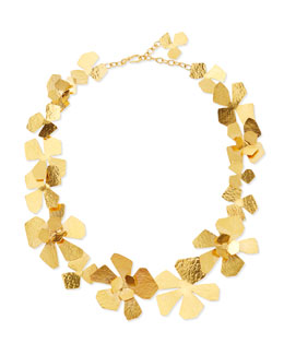Herve Van Der Straeten Origami Flower Necklace