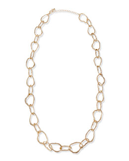 Panacea Golden Organic Chain Necklace