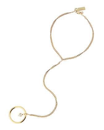 Sale alerts for Vanessa Mooney Bright Lights Ring-to-Wrist Bracelet, Gold - Covvet