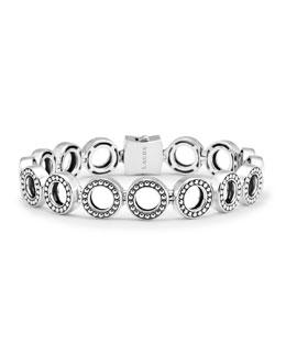 Lagos Enso Sterling Silver Multi Link Bracelet
