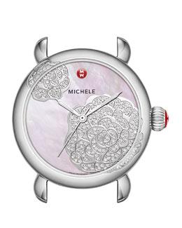 MICHELE Limited Edition CSX Jardin Diamond-Dial Watch Head
