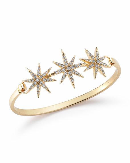 White Topaz Compass Rose Bracelet