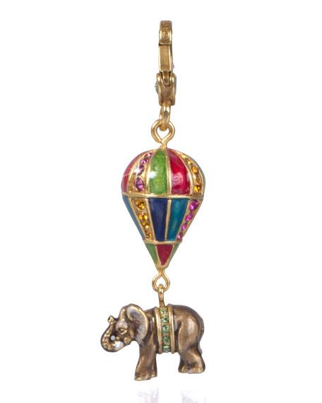 Howie Elephant on Balloon Charm