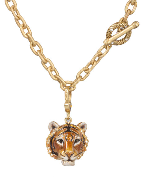 Jay Strongwater Ian Tiger Charm