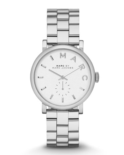 MARC by Marc Jacobs Baker Stainless Analog Watch with Bracelet