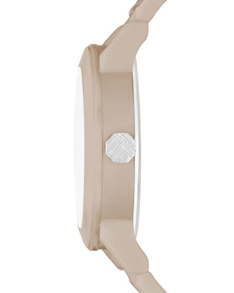 34mm Trench Round Ceramic Watch