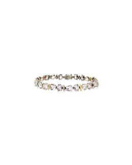 Alexis Bittar Fine Cool Heather Marquise Light Amethyst Tennis Bracelet