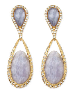 Alexis Bittar Dangling Clip-On Maldivian Earrings