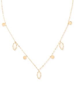 Lana Dream Gypsy 14k Gold & Moonstone Necklace