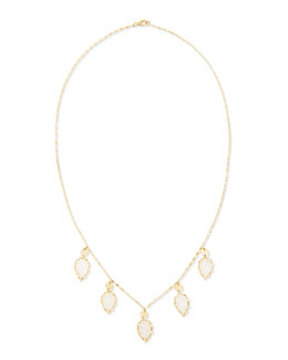 Lana 14k Gypsy Lux Moonstone Necklace