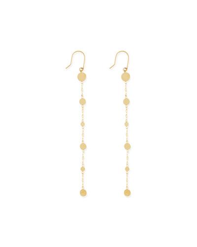 Lana 14k Long Shimmer Earrings