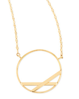 Lana 14k Small Affinity Pendant Necklace
