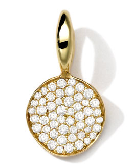 Ippolita 18k Gold Small Charm with Diamonds