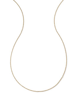 Ippolita 18k Yellow Gold Thick Charm Chain Necklace, 36""