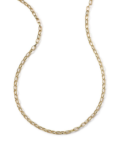 Ippolita 18k Gold Oval Link Chain Necklace