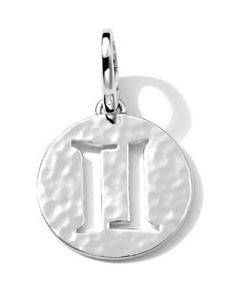 Ippolita Sterling Silver Zodiac Charm, Gemini