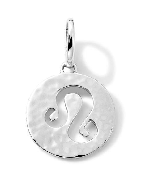 Sterling Silver Zodiac Charm,Leo