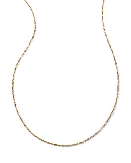 Ippolita 18k Yellow Gold Thin Charm Chain Necklace, 36