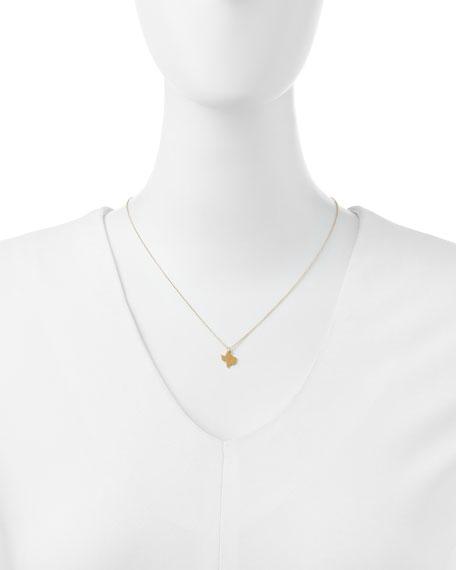 I Heart Texas Pendant Necklace
