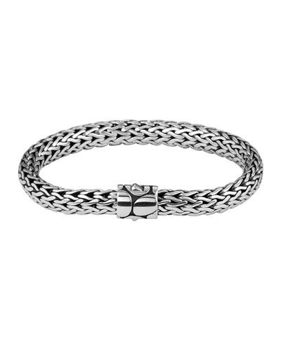 John Hardy Bedeg Silver Medium Bracelet