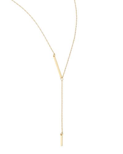 18k Gold Vermeil Petra Lariat Necklace